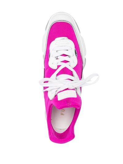 Furla кроссовки на массивной подошве YE30WOFA0693 - 4