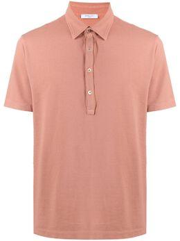 Boglioli рубашка поло с короткими рукавами 91409BRC709