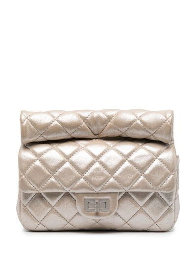 Chanel Pre-Owned стеганый клатч Mademoiselle 2012-го года CC4200L - 1