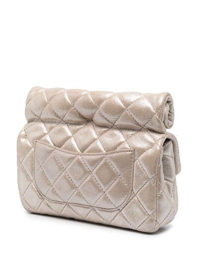 Chanel Pre-Owned стеганый клатч Mademoiselle 2012-го года CC4200L - 3