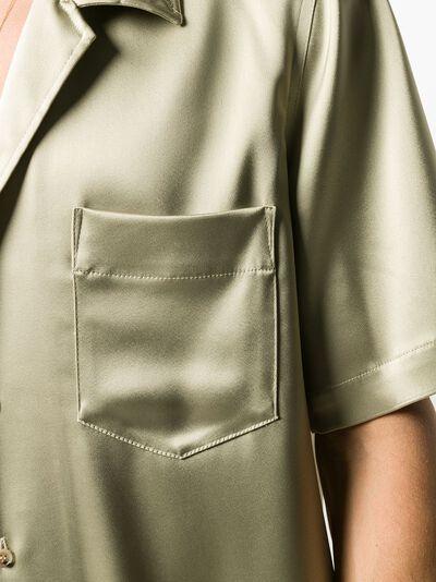 Nanushka рубашка Venci с короткими рукавами NM21SSSH00979 - 5