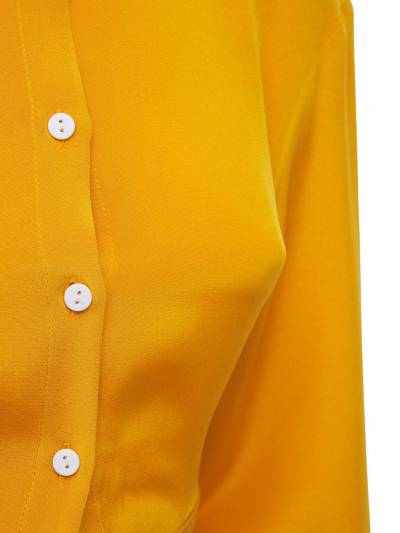 Рубашка Из Шелкового Атласа Christopher Esber 73I3KU044-TUFOR081 - 2