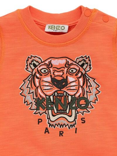 """Свитшот Из Хлопка С Вышивкой """"тигр"""" Kenzo Kids 73IOEH069-MzUz0 - 2"""