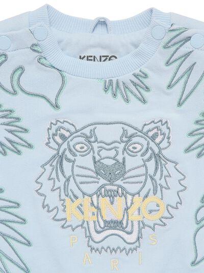 Свитшот Из Органического Хлопка С Вышивкой Kenzo Kids 73IOEH007-Nzcz0 - 2
