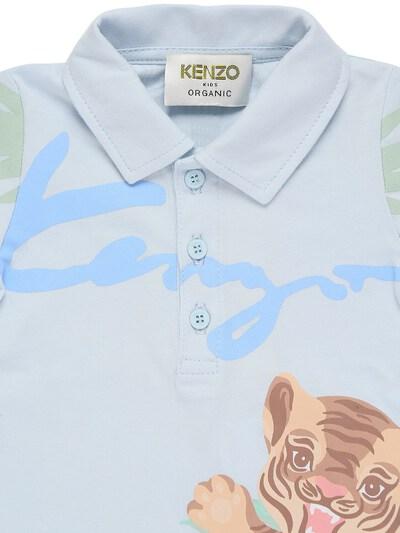 Шорты И Рубашка Из Органич. Хлопка Kenzo Kids 73IOEH027-QTQx0 - 3