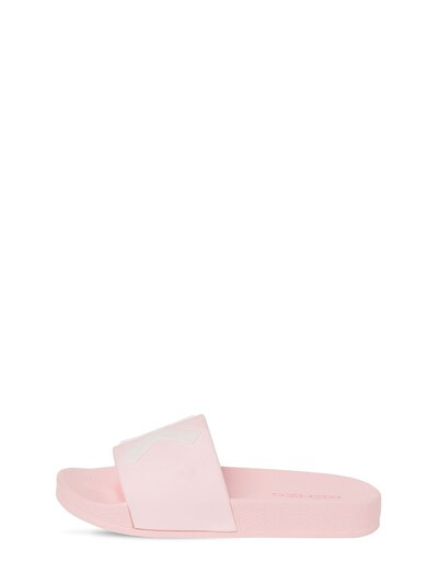 Резиновые Сланцы С Принтом Логотипа Kenzo Kids 73ILYQ006-NDYx0 - 2