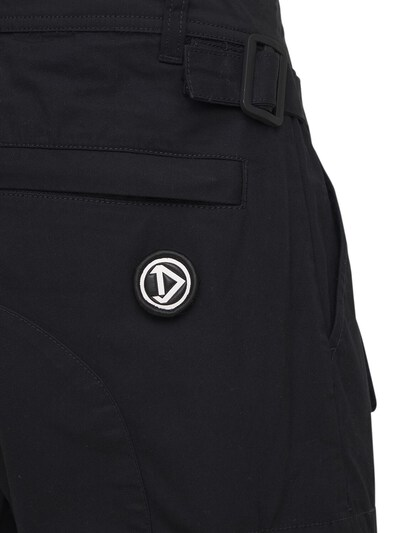 Cotton & Nylon Cargo Shorts Diesel 73IBQT023-OVhY0 - 4
