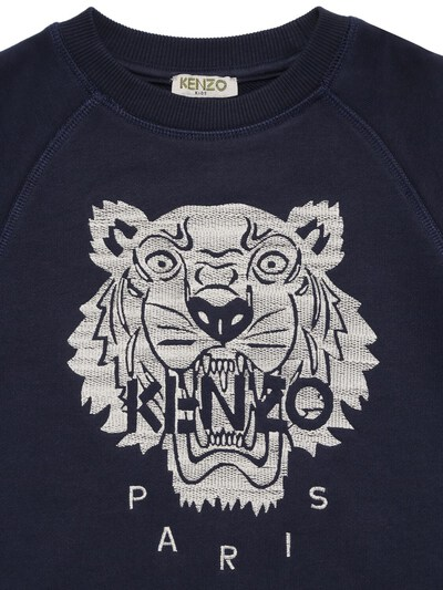 "Свитшот Из Хлопка С Вышивкой ""тигр"" Kenzo Kids 73I6TC073-ODVU0 - 2"