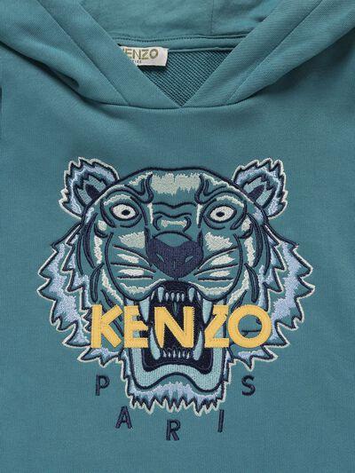 Свитшот Из Хлопка С Капюшоном Kenzo Kids 73I6TC019-Njkz0 - 2