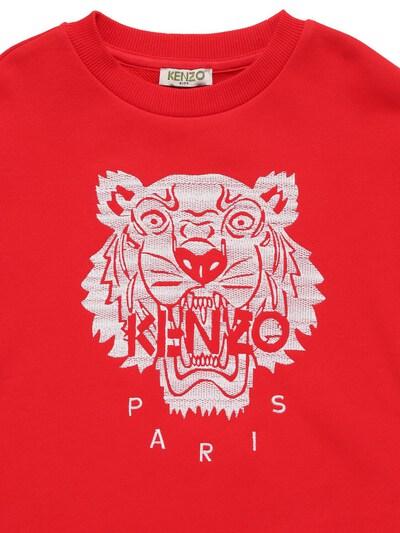 "Свитшот Из Хлопка С Вышивкой ""тигр"" Kenzo Kids 73I6TB157-OTkw0 - 2"