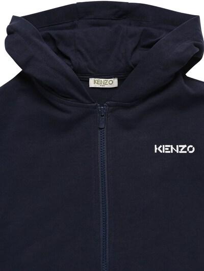 Свитшот Из Хлопка С Капюшоном Kenzo Kids 73I6TB167-ODVU0 - 4