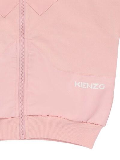 Свитшот Из Хлопка С Капюшоном Kenzo Kids 73I6TB101-NDYx0 - 2