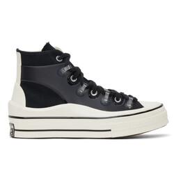 Converse Black Kim Jones Edition Chuck 70 Utility Wave Hi Sneakers 171257C