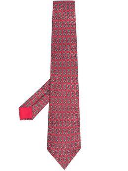 Hermes галстук 2000-х годов с принтом HMES180G