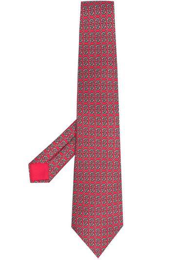 Hermes галстук 2000-х годов с принтом HMES180G - 1