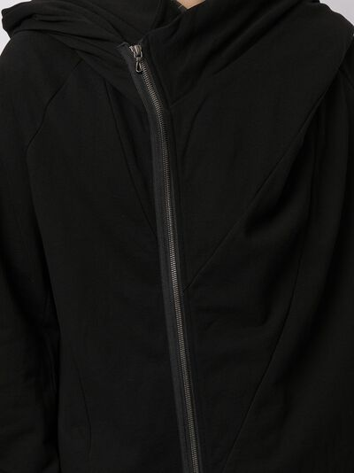 Julius куртка с косой молнией и капюшоном 737CUM16 - 5