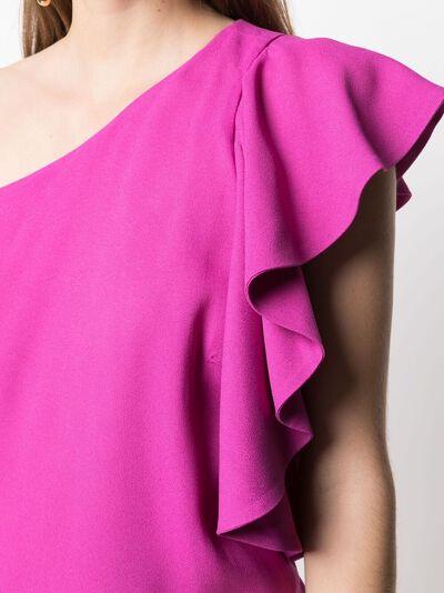 L'Autre Chose платье миди с оборками B2511016022U380 - 5