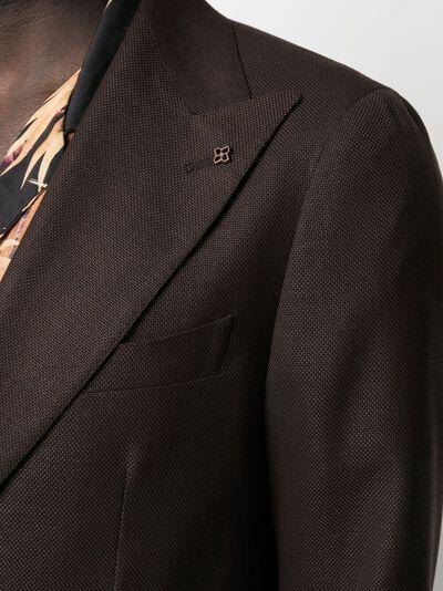 Tagliatore однобортный пиджак 1SVS26B52UEG077 - 5