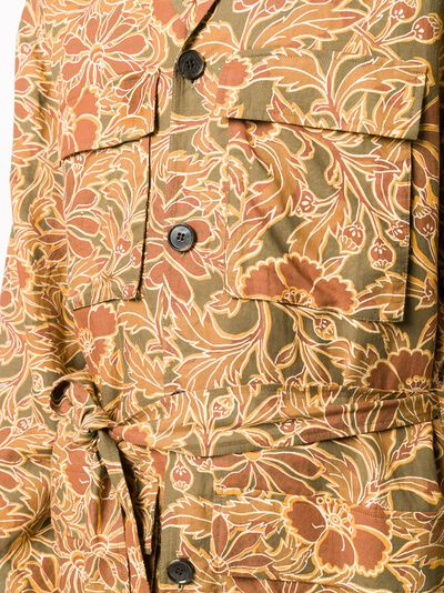 Nanushka куртка-рубашка Simo с принтом NM21SSSH00877 - 5