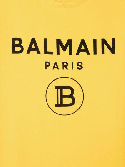 Balmain Kids толстовка с логотипом 6O4690OX370 - 3