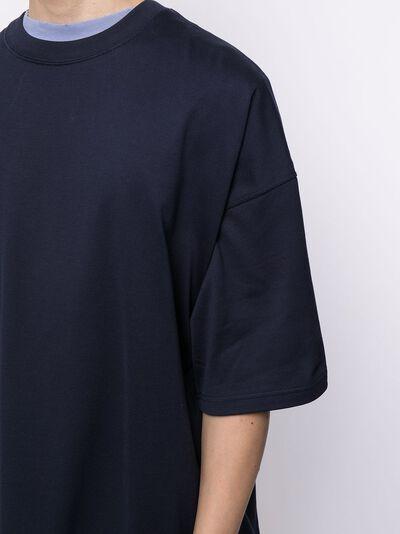 Mastermind Japan футболка с логотипом на спине MJ21E06TS077017 - 5