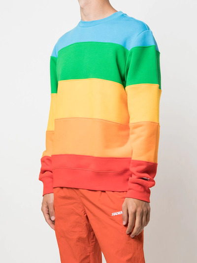 Lacoste crew-neck colour-block sweatshirt SH2088 - 3