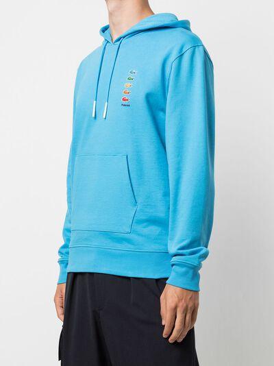 Lacoste x Polaroid cotton fleece hoodie SH5661 - 3