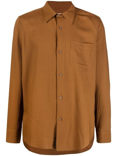 Ami Paris рубашка свободного кроя E21HC159289 - 1
