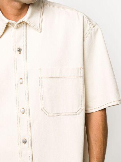 Nanushka рубашка Avery с короткими рукавами NM21SSSH00371 - 5