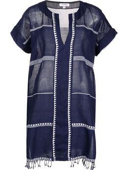 Lemlem платье-кафтан Neela SW2172NAVY