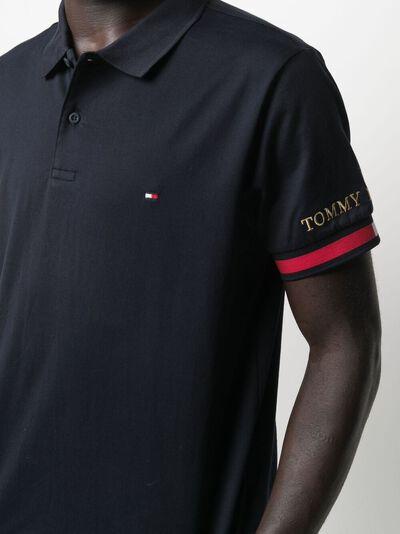 Tommy Hilfiger рубашка поло с вышитым логотипом MW0MW17798 - 5