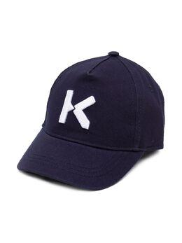 Kenzo Kids бейсболка с вышивкой Kenzo K K51000