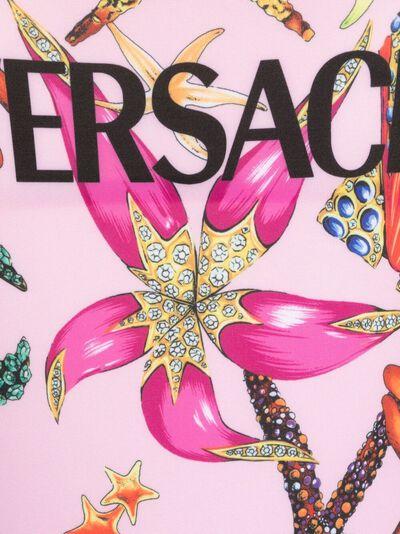 Versace купальник с принтом Trésor de la Mer ABD890201F01224 - 3
