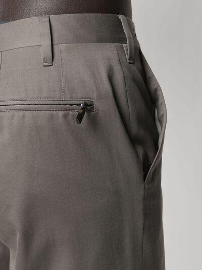 Corneliani прямые брюки со складками 874B041114105 - 5