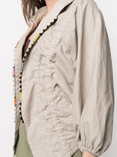 Bazar Deluxe драпированная куртка S6832100211 - 5