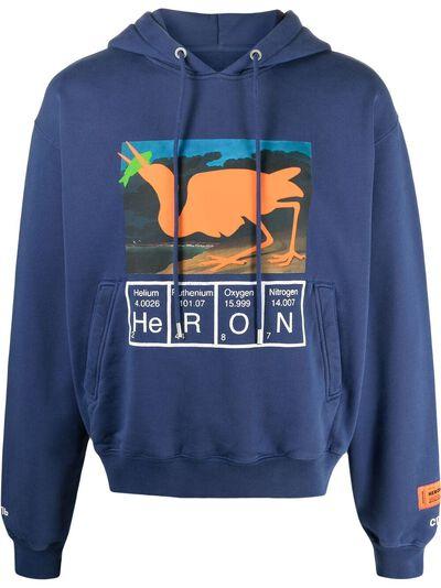 Heron Preston худи с принтом HMBB016S21JER0014520 - 1