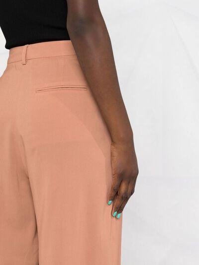 Alberto Biani прямые брюки с вытачками CC802VI0081 - 3
