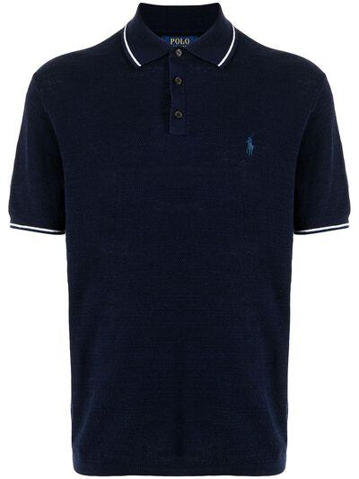Polo Ralph Lauren рубашка поло с вышитым логотипом 710834631001 - 1