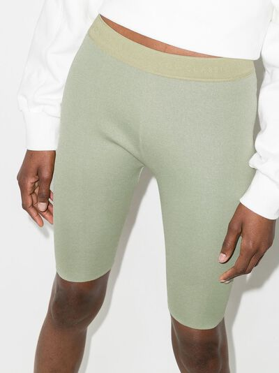 Low Classic облегающие шорты с логотипом на поясе LOW21SSOK03LN - 2