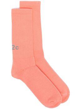 032C носки с логотипом 1020REFLECTIVELOGOSOCKSEXNEON