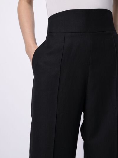Salvatore Ferragamo брюки с завышенной талией 744663002002 - 5