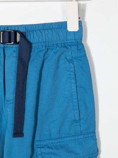 Stella McCartney Kids шорты карго с поясом 602328SQK01 - 3