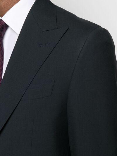Canali строгий костюм с однобортным пиджаком AT005531528651 - 5