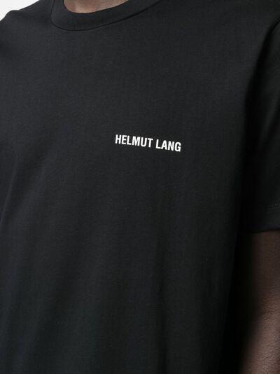 Helmut Lang футболка с графичным принтом L02DM503CYVM - 5