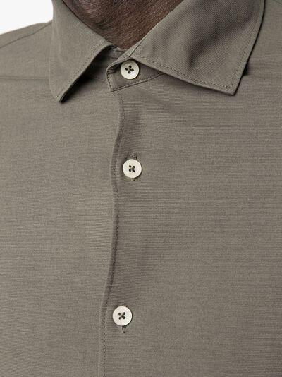 Dell'oglio рубашка с заостренным воротником CAMLSPJCREPE - 5