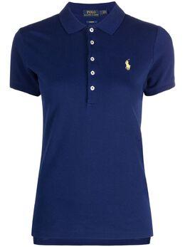 Polo Ralph Lauren рубашка поло с вышивкой Polo Pony 211505654