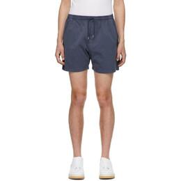 Schnaydermans Indigo Garment-Dyed Shorts 3000363/02