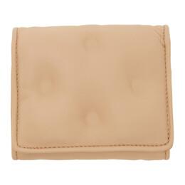 Maison Margiela Beige Glam Slam Wallet S56UI0138 P1965