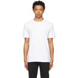 Boss by Hugo Boss White and Gold Logo T-Shirt 50448686