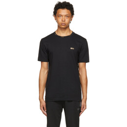 Boss by Hugo Boss Black and Gold Logo T-Shirt 50448686
